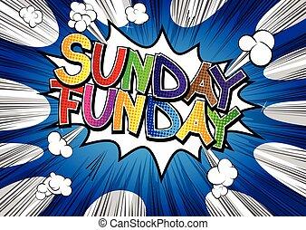 vasárnap, funday