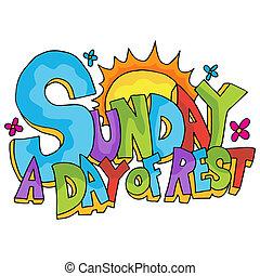 vasárnap, nap, maradék