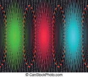 vektor, ábra, háttér, színes