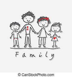 vektor, család