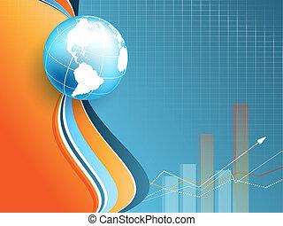vektor, eps10, backdrop., statisztikai