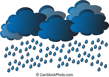 vektor, eső
