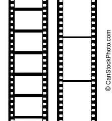 vektor, fényképezőgép film