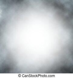 vektor, köd, háttér