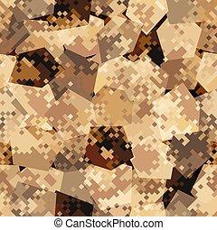 vektor, pattern., hadsereg, álcáz, hadi, elvont, struktúra, seamless, ábra