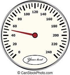 vektor, sebességmérő
