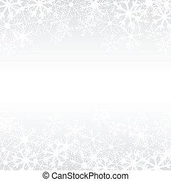 vektor, tél, háttér