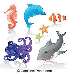 vektor, tenger élőlény