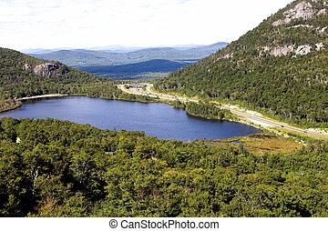vermont, tó