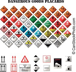 veszélyes, kiragaszt, ingóságok