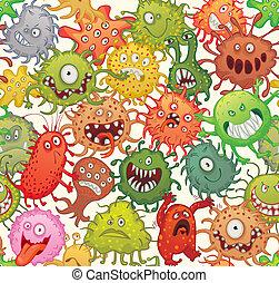 veszélyes, microorganisms