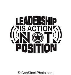 vezetés, position., akció, árajánlatot tesz, jó, nem, ügy, poster.