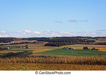 vidéki, farmland