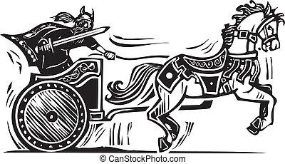 viking, versenyszekér