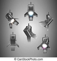 világítás, fokozat
