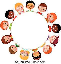 világ, barátok, gyerekek