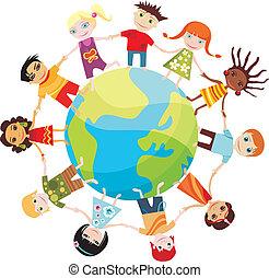 világ, gyerekek