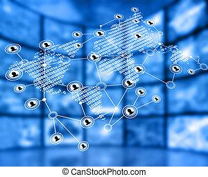 világ-, hálózat
