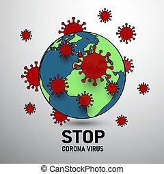 világ, korona, vírus