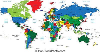 világ, map-countries