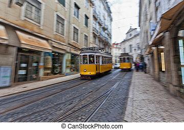 villamos, 28, lisszabon