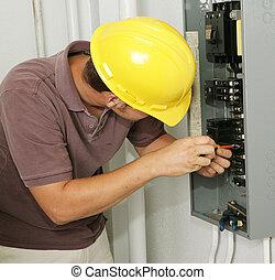 villanyszerelő, bizottság, &, cb rádiós