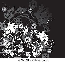 virág, alapismeretek, tervezés, háttér