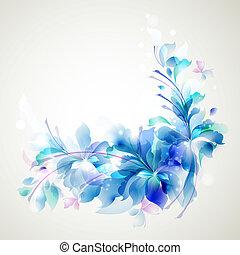 virág, elvont