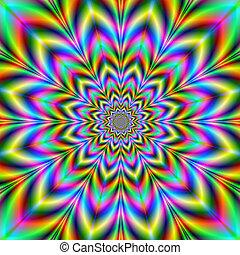 virág, psychedelic