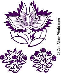 virág, tervezés