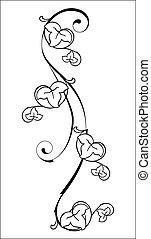 virágos, elem