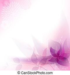 virágos, elvont, háttér