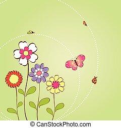 virágos, eredet, háttér, nyár