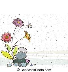 virágos, lepke