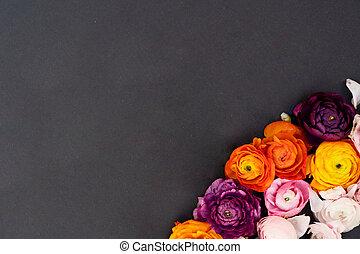 virágzó, fekete, menstruáció