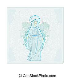 virgin mary, áldott