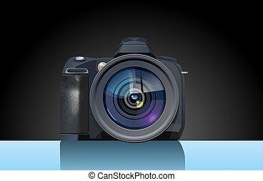 visszfény, fényképezőgép