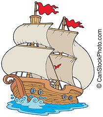 vitorlás hajó, öreg