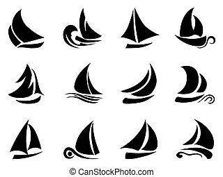 vitorlás hajó, jelkép