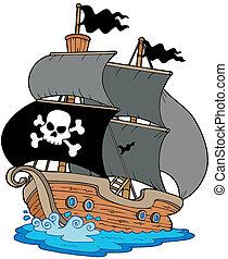vitorlás hajó, kalóz