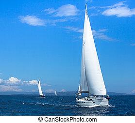 vitorlázás hajó, jacht