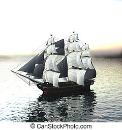 vitorlázás hajó