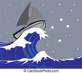vitorlázik, -, csónakázik, déli, kereszt