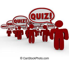 vizsgálat, emberek, vetélkedő, beszéd, teszt, panama, osztály