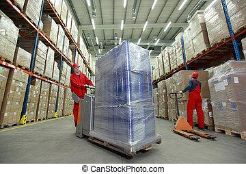 warehousing, optimization, munka, -