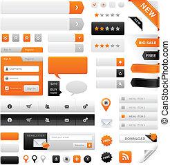 website, állhatatos, grafika