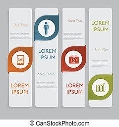 website, grafikus, alaprajz, infographic., szám, tervezés, sablon, szalagcímek, vagy