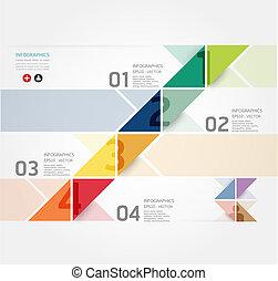 website, lenni, mód, használt, alaprajz, vektor, modern, megvonalaz, /, vagy, szalagcímek, infographic, tervezés, számozott, sablon, infographics, grafikus, kapcsoló, horizontális, minimális, konzerv