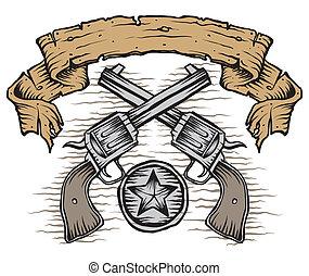 western, fegyverek