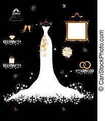 white esküvő, öltözködik bevásárlás, kiegészítő